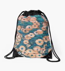 Flower Romance Drawstring Bag
