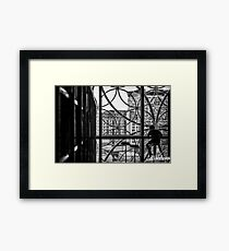 Peace in the Libary Framed Print