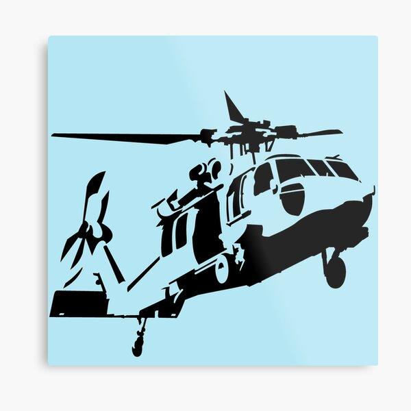 UH-60 Black Hawk Metal Print