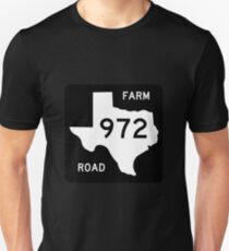Texas State Highway Shield Unisex T-Shirt