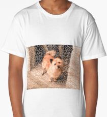 dog out of puzzles Long T-Shirt
