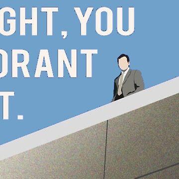 Dwight you ignorant slut by LenaG56