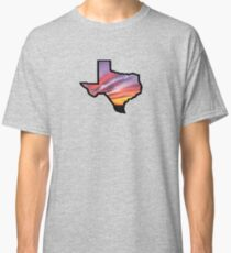 Texas Lone Star State Sunset Design Classic T-Shirt