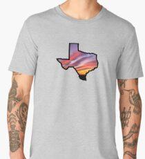 Texas Lone Star State Sunset Design Men's Premium T-Shirt