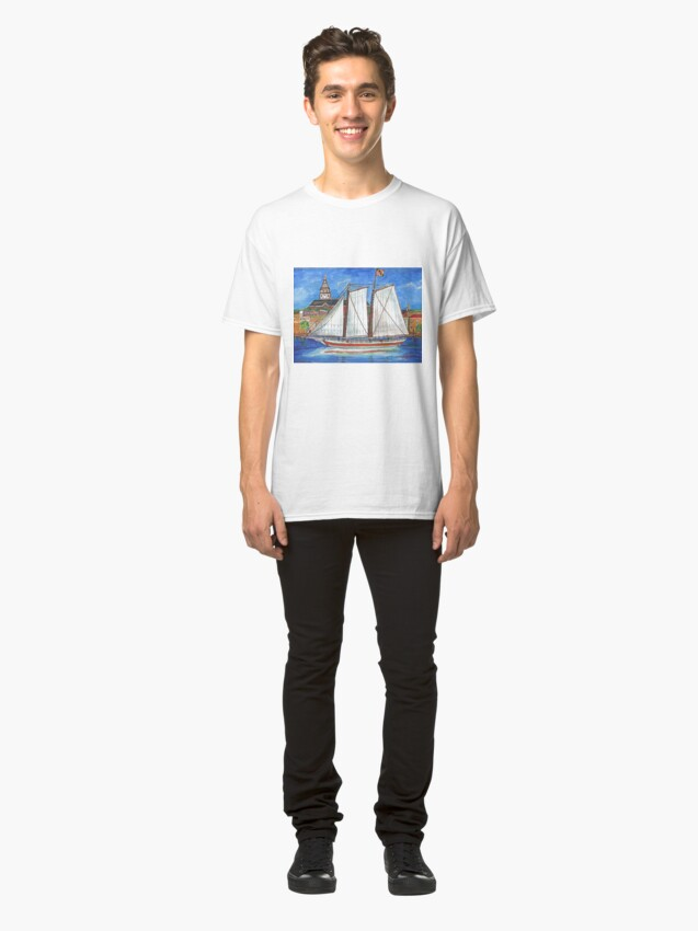Alternate view of Sailing Annapolis Classic T-Shirt