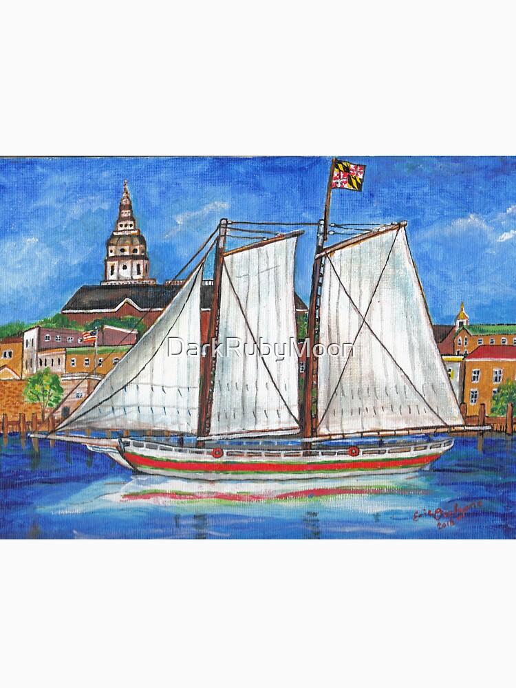 Sailing Annapolis by DarkRubyMoon