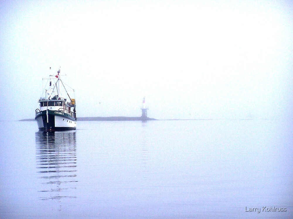 Alone In The Fog 7 - Kohlruss Photography by Larry Kohlruss