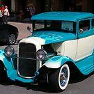 Mr. Blue ..... a clean machine.. by Larry Llewellyn