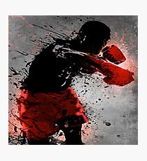 Boxing Art Photographic Print