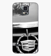Black and White Cadillac Case/Skin for Samsung Galaxy
