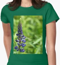 Wild Lupine Womens Fitted T-Shirt