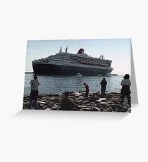 Approaching Dock-Halifax 2004 Greeting Card