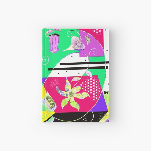 Summer Blooms Hardcover Journal