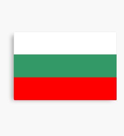 Bulgaria, national id Canvas Print
