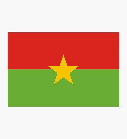 Burkina, national id Photographic Print