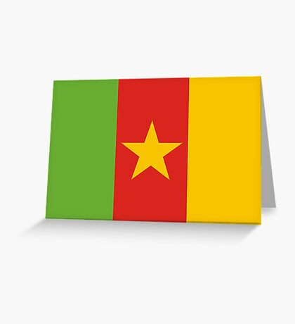 Cameroon, national id Greeting Card