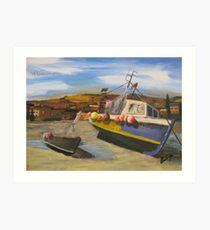Harbour Side Art Print