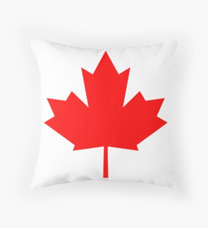 Canada, national id Throw Pillow
