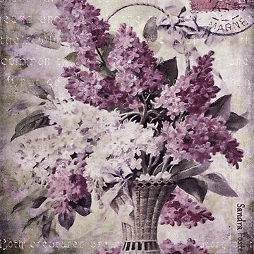 Lilacs Of Yesteryear by SandraFoster