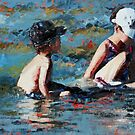 Playing In The Shallows III by Claire McCall