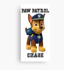 Paw Patrol Chase Canvas Print