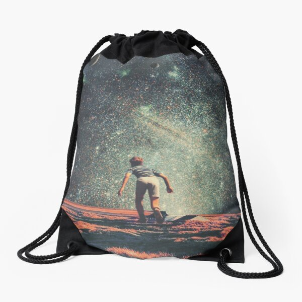 Nostalgia Drawstring Bag