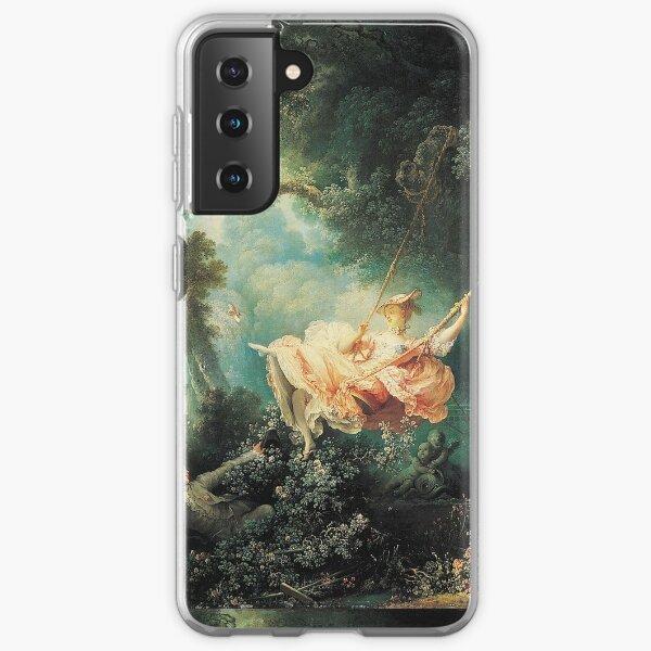 HD The Swing, by Jean-Honoré Fragonard HIGH DEFINITION Samsung Galaxy Soft Case