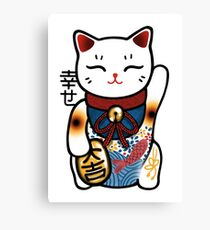 Maneki T-Shirt Canvas Print