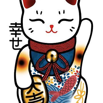 Maneki T-Shirt by Pescapin