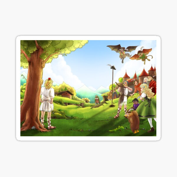 William Tell and the Apple Sticker