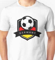 Soccer flag Germany Unisex T-Shirt