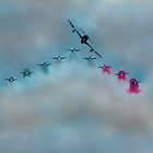 Frecce RIAT 2018 by Andy Thomson Photography Art