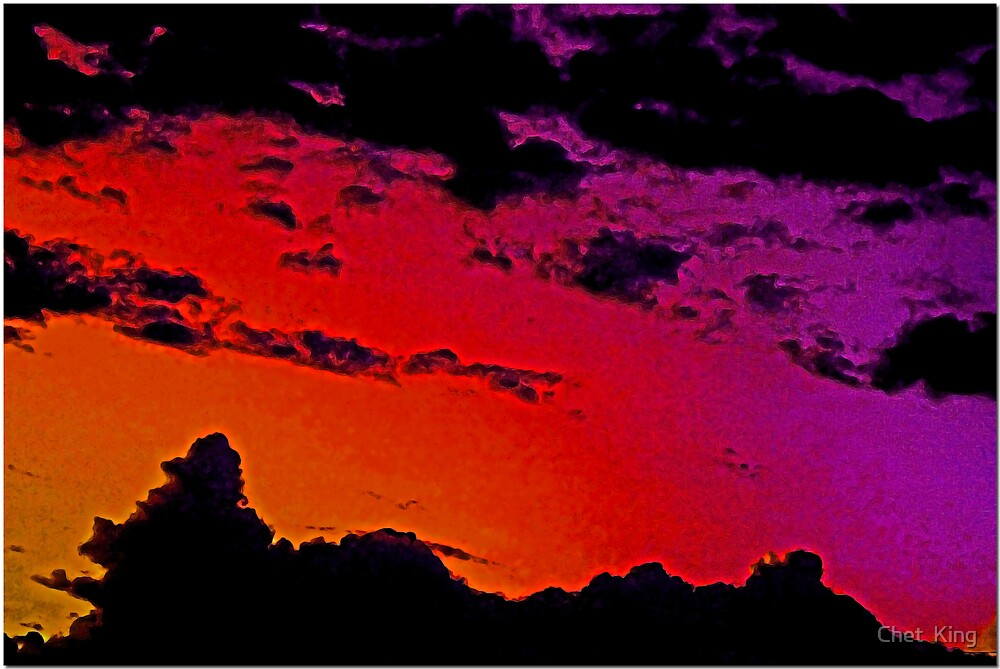 Northwest Sky by Chet  King