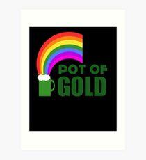 Pot Of Gold Art Print