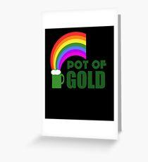 Pot Of Gold Greeting Card