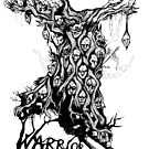 Warrior Pope Anchorite Tree Roots Logo by WarriorPope