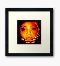 orange peel daze Framed Print