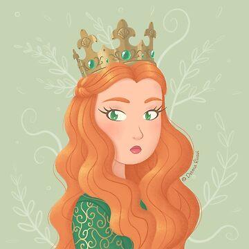 Irish queen by SilveryDreams