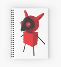 Devilish Piñatamon Spiral Notebook