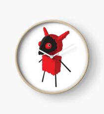Devilish Piñatamon Clock