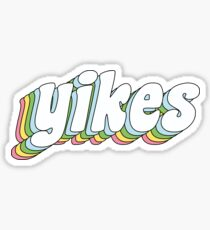 yikes Sticker