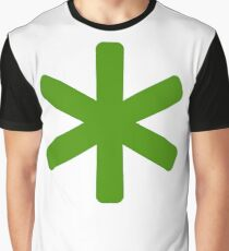 asterisk Graphic T-Shirt