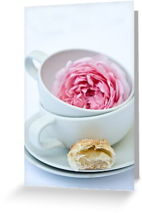 Puff Pastry Cookies With Almond and Rose Filling by Ilva Beretta