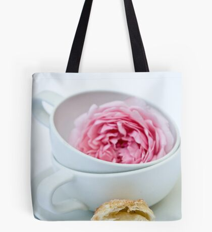 Puff Pastry Cookies With Almond and Rose Filling Tote Bag