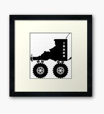 Idaho 4-wheel drive 4x4 Framed Print