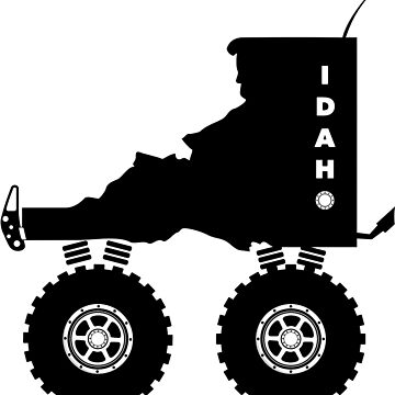 Idaho 4-wheel drive 4x4 by JohnOdz