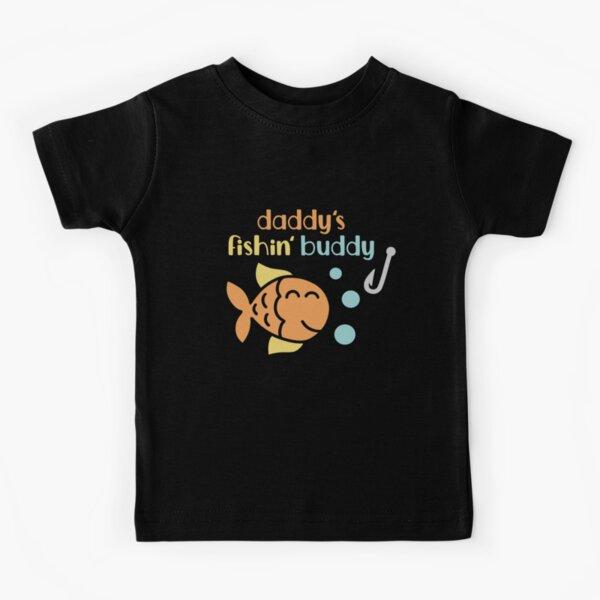 Daddy's Fishing Buddy Kids T-Shirt