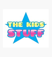 The kids Stuff (perfect children's tote bag) Photographic Print