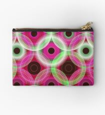 Circles | pink and green  Studio Pouch