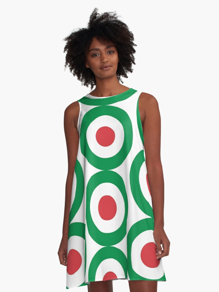 Italy A-Line Dress Front